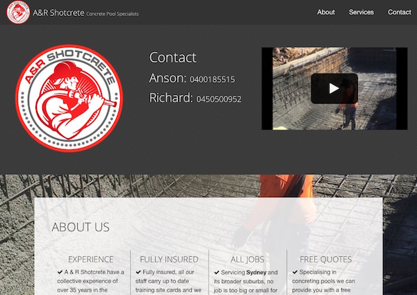 A and R Shotcrete