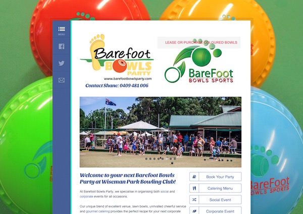 Barefoot Bowls Party
